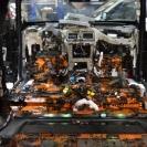 Автомобиль полностью разобран и оклеен первым слоем шумоизоляции