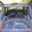 Голый кузов-пыль и грязь, в этом авто очень много ненужных щелей
