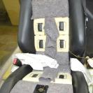 Массажное сиденье-процесс установки моторов