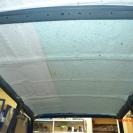 Второй слой шумоизоляции на крыше