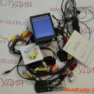 Комплект проводов и установочный диск автовидеорегистратора