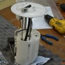 Устанавливаем топливозаборную трубку Вебасто