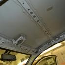 Потолок - голое железо