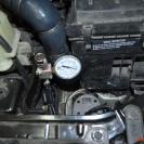 Система быстросъёма с манометром
