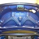 Крышка багажника -шумоизоляции нет..