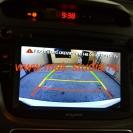 Головное устройство - режим задней камеры
