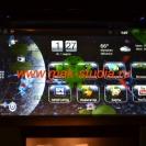 Штатное головное устройство - количество заставок экрана огромное множество