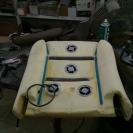 установка вентиляторов для вентиляции сидений