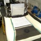 установка специальной сетки для распределения воздуха