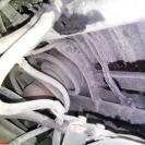 некоторые места крепления 3 ряда МИЦУБИСИ ПАДЖЕРО СПОРТ 2013 попали в чашки пружин