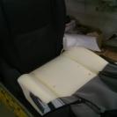 установка вентиляции сидений-разбираем сидушку