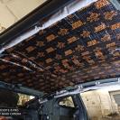 Шумоизоляция крыши Шевроле Камаро-1 слой