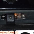 Камера заднего вида на Вольво - подсветка номера сохраняется