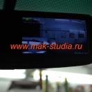 Зеркало с видеорегистратором - режим картинка в картинке