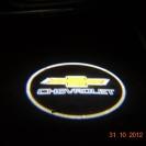 Лазерная проекция логотипа Шевроле, 3 W
