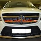 Лазерная проекция логотипа авто на Mercedes–Benz GL-AMG