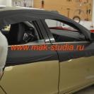 Оклейка автомобиля плёнкой - добавим немного чёрного перламутра