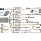 Схема подключения микросигнализации Pandect X-1000