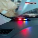 Парктроник ParkMaster 4-DJ-06 (06-4-A) в интерьере автомобиля