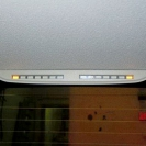 Индикатор парктроника ParkMaster 4-DJ-33 в интерьере автомобиля