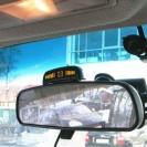 Парктроник ParkMaster 4-DJ-45 на зеркале заднего вида