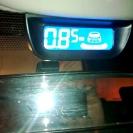 Парктроник ParkMaster 8-DJ-29 (29-8-A) в интерьере автомобиля