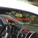 Скрытая установка видеорегистратора в автомобиль-пока ещё штатное зеркало.