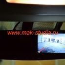 Видеорегистратор в зеркале заднего вида - режим парковки.
