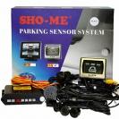 Комплектация парковочной системы Sho-Me KDR-25 со старым монитором