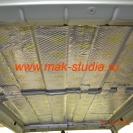 Шумоизоляция Сузуки Джимни - потолок, слой вибропласта