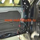 Шумоизоляция дверей автомобиля - второй слой сплен