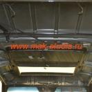 Шумоизоляция на потолке отсутствует полностью