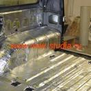 Шумоизоляция автомобиля вибропластом со 100% перекрытием