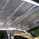 Шумоизоляция потолка камри - слой вибропласта