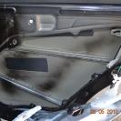 Шумоизоляция дверей автомобиля (задняя дверь) - штатной шумоизоляции нет