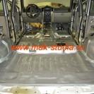 Шумоизоляция автомобиля - слой сплена, клеим так же со 100% перекрытием