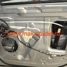 Шумоизоляция дверей автомобиля - вибропласт придаст монолитность внешней стороне двери