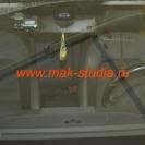Скрытая установка видеорегистратора на автомобиль.