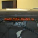 Скрытая установка видеорегистратора  на Kia Sportage.