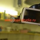 Скрытая установка видеорегистратора на Volkswagen: если присмотреться сбоку - только тогда можно его заметить
