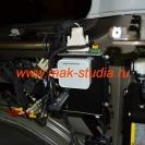 Смонтированный комплекс: видеорегистратор, роутер, модем 4G.