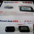 Упаковка и брелки автосигнализации StarLine A93 CAN+LIN