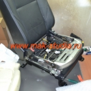 Вентиляция сидений - каркас сидушки в разобранном виде