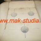 Установка вентиляции сиденья (колодцы для вентиляторов)