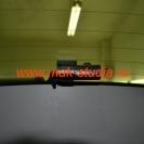 Скрытая установка видеорегистратора - задняя камера.