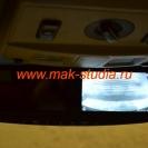 Задняя камера автовидеорегистратора - контроль съёмки через экран монитора