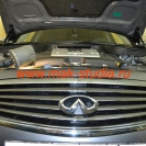 Защитная сетка радиатора авто