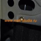 Установка специальной резьбовой клёпки для крепежа