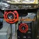 Звуковой сигнал установлен - вид, как с завода