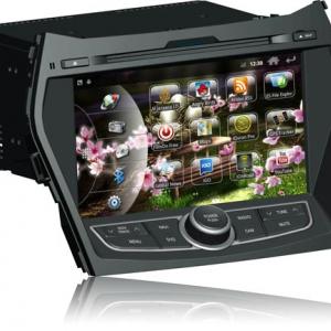 Штатное головное устройство на Android для Hyundai Santa Fee 2012